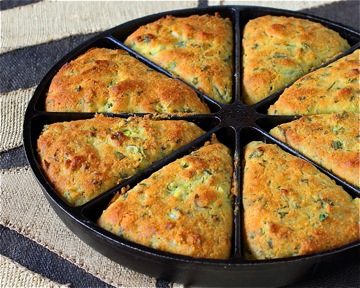 Green Chile Cornbread | Recipe Ideas | Modern Mom Meals